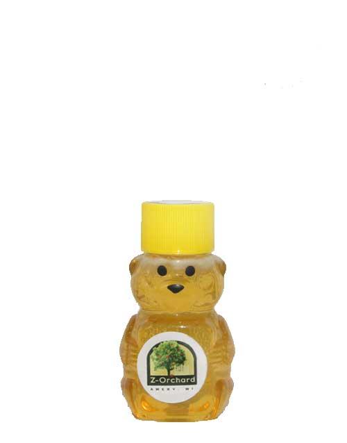 Z-Orchard, Amery Wisconsin, Local Honey Tiny Bear